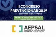 AEPSAL tendrá un STAND en el II Congreso Prevencionar