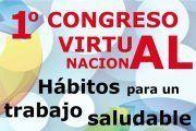 CCOO organiza el I Congreso Virtual Nacional 'Hábitos para un trabajo saludable'