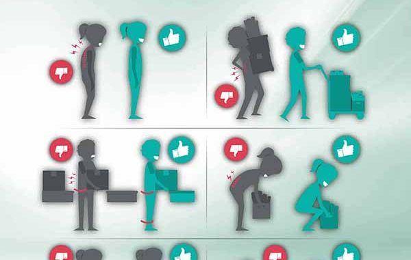 Infografía: Aprende a proteger tu espalda