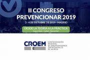 La Confederación Regional de Organizaciones Empresariales de Murcia (CROEM) se suma al II Congreso Prevencionar