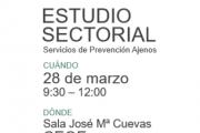 Presentación Estudio Sectorial Servicios de Prevención Ajenos