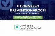 Servicios de Prevención Ajenos se suma al II Congreso Prevencionar 2019