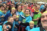 Carrera solidaria de los empleados de Cemex en Aragón