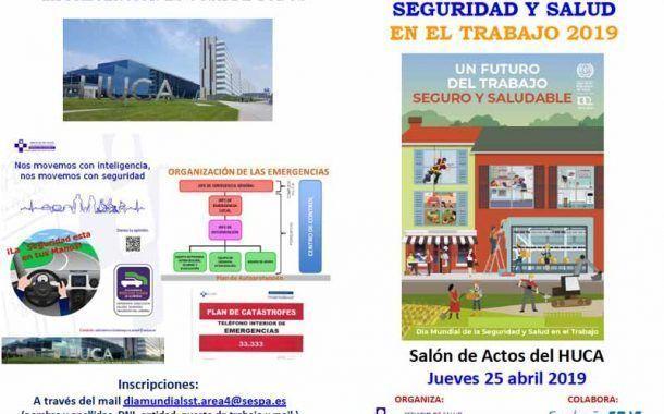 Día Mundial de la Seguridad y Salud en el Trabajo en el HUCA