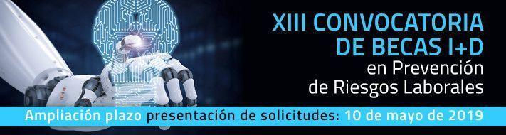 XII Convocatoria de Becas I+D en Prevención de Riesgos Laborales