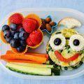 comida saludable escuela