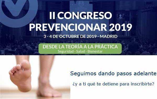 II Congreso Prevencionar 2019: Seguimos dando pasos adelante