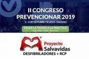 Proyecto Salvavidas patrocinador del II Congreso Prevencionar 2019