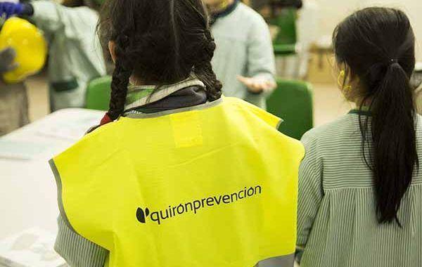 Quirónprención inicia un tour de concienciación sobre seguridad y salud en colegios