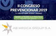 AB Medica Group S.A. estará presente en el #CongresoPrevencionar con sus líneas de cardiología Cardioline, espirómetros MIR,desfibriladores Cardiac Science y de material de consumo Lessa
