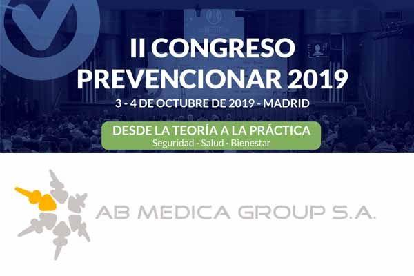 AB Medica Group patrocinador del II Congreso Prevencionar 2019