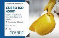 Curso ISO 45001 presencial en Madrid