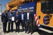 Eurogrúas Occidental, primera empresa de su sector en obtener la certificación ISO 45001