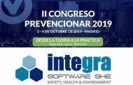 Icsoft efectuará la presentación oficial de la versión 2019 de su aplicación INTEGRA software PRL en el #CongresoPrevencionar