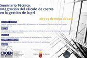 Seminario Técnico organizado por CROEM: Integración del cálculo de costes en la gestión de la PRL