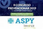 ASPY innova patrocinador del II Congreso Prevencionar
