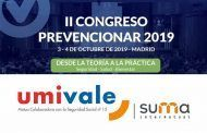 Umivale se suma al II Congreso Prevencionar 2019