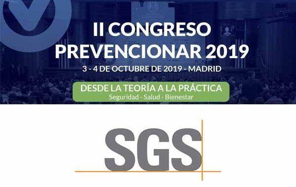 SGS Tecnos patrocinador del II Congreso Prevencionar