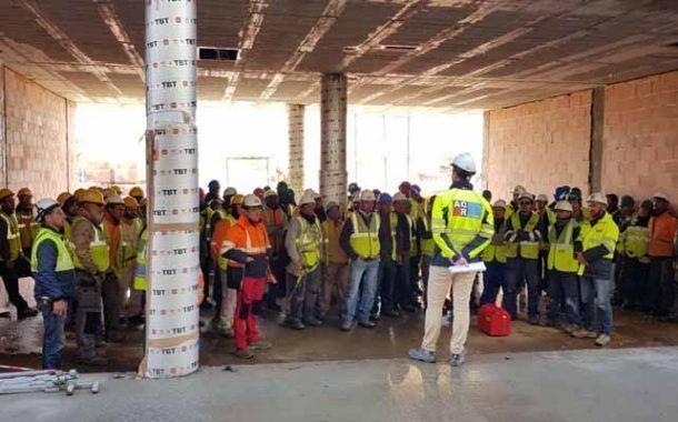 CR Grupo se mantiene a la cabeza de las constructoras con menor siniestralidad en España