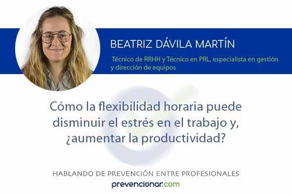 Cómo la flexibilidad horaria puede disminuir el estrés en el trabajo y, ¿aumentar la productividad?