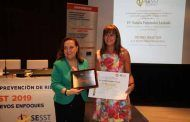 Natalia Fdez. Laviada, subdirectora general de Fraternidad-Muprespa premiada por la Sociedad Española de Salud y Seguridad en el Trabajo