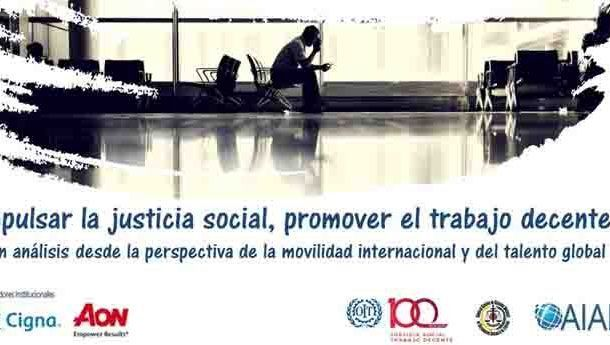 Jornada: Impulsar la justicia social, promover el trabajo decente