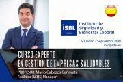 V Edición Curso Experto en Gestión de Empresas Saludables - Inicio Septiembre - 2019