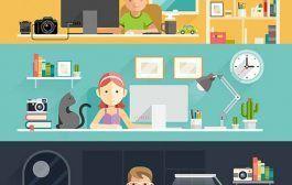 El Wall Street Journal publica un video con recomendaciones para mejorar nuestra postura frente al escritorio