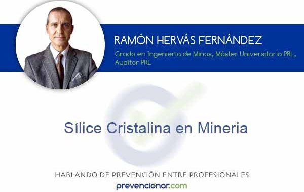 Sílice cristalina en minería