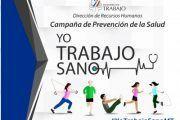 """Santo Domingo lanza campaña preventiva de salud """"Yo Trabajo Sano"""""""