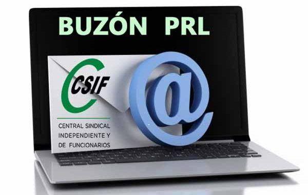 CSIF lanza el Buzón PRL un canal de comunicación para las personas trabajadoras y delegados de prevención