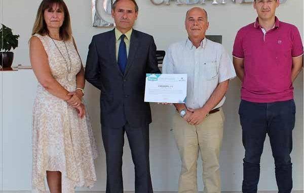 Cabañero S.L. recibe el diploma bonus por reducir la siniestralidad