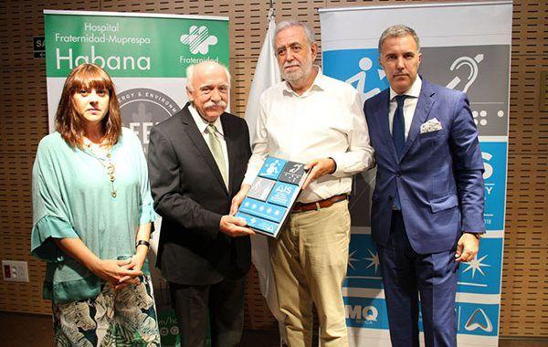 El Hospital Fraternidad-Muprespa Habana obtiene el certificado AIS cinco estrellas, la máxima categoría en accesibilidad