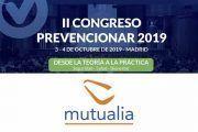 Mutualia se suma al II Congreso Prevencionar
