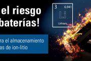Guía práctica para el almacenamiento seguro de baterías de iones de litio