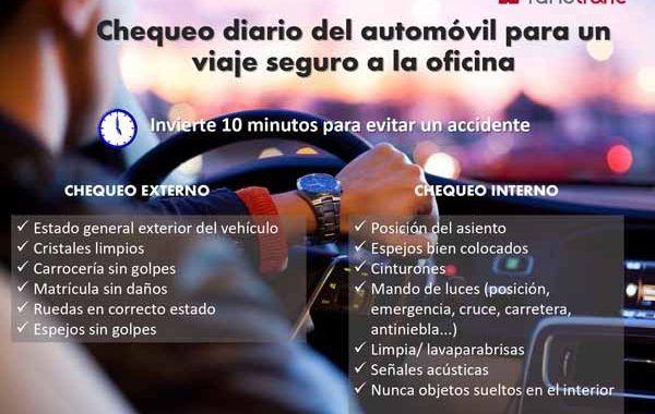 ¿Conoces los ítems a verificar diariamente en tú vehículo antes de ir a trabajar?