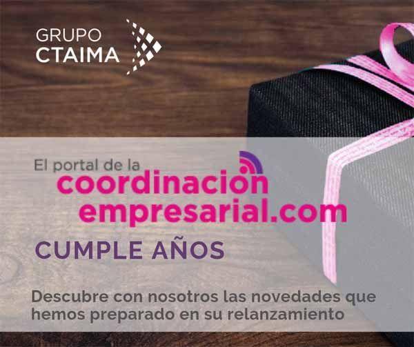 El Portal de la Coordinación Empresarial celebra sus 8 años con nuevo diseño y propuestas más actualizadas