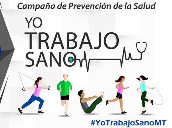 """Santo Domingo lanza la campaña """"Yo Trabajo Sano"""""""