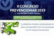 La plataforma elevadora autopropulsada de brazo articulado NIFTYLIFT será presentada en el II Congreso Prevencionar