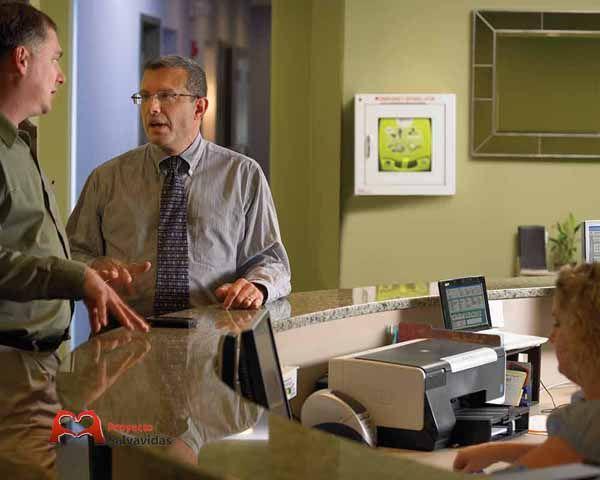 Cardioprotección de empresas con desfibriladores DEA DESA
