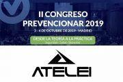 """La empresa de ingeniería ATELEI presentará su plataforma """"ATESENS"""" en el #CongresoPrevencionar"""