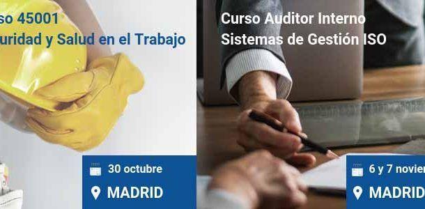 ENVIRA organiza este otoño dos cursos presenciales en el Networkia Business Center de la Moraleja (Madrid)