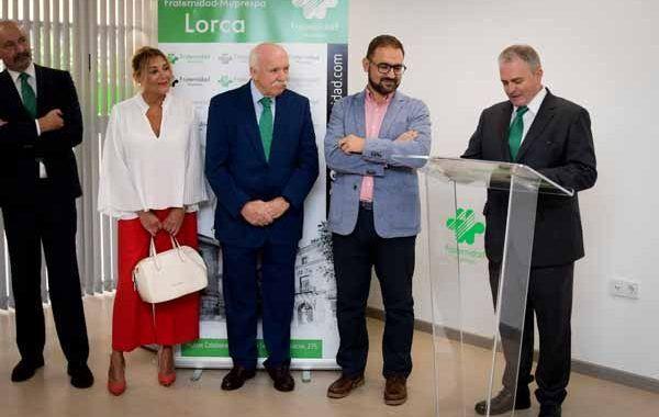Abre sus puertas el  nuevo centro asistencial de Fraternidad-Muprespa en Lorca