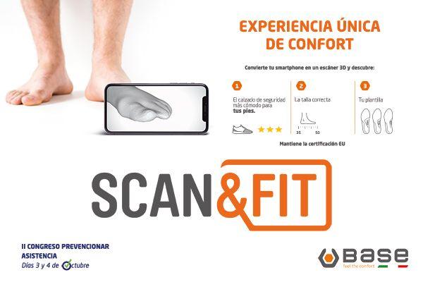 SCAN&FIT: Escoge y personaliza tu calzado de seguridad