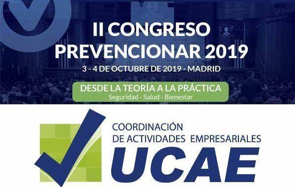 UCAE mostrará en Prevencionar las últimas soluciones integrales en la externalización de la gestión CAE