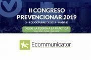 Ecommunicator patrocinador del #Congreso Prevencionar