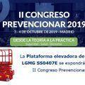 La Plataforma elevadora de tijera LGMG SS0407E se expondrá en el II Congreso Prevencionar