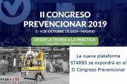 La nueva plataforma STAR8S se expondrá en el II Congreso Prevencionar