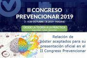 Horarios de presentación de pósters en el #CongresoPrevencionar