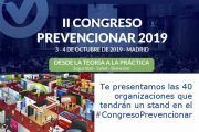 Te presentamos las 40 organizaciones que tendrán un stand en el #CongresoPrevencionar